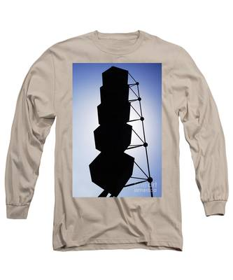 Backlight Structure Long Sleeve T-Shirt