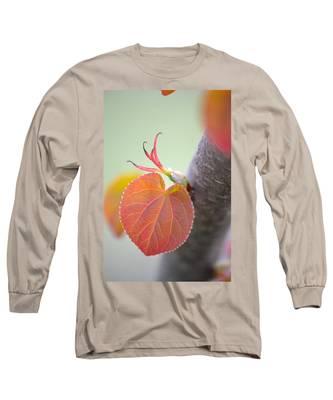 Budding Heart Long Sleeve T-Shirt