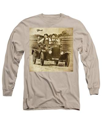 Not Likely Laurel And Hardly Hardy Long Sleeve T-Shirt