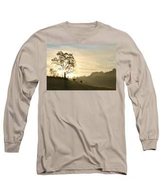 Pasture Sunrise Long Sleeve T-Shirt