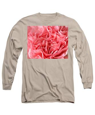 Pink Carnation Long Sleeve T-Shirt