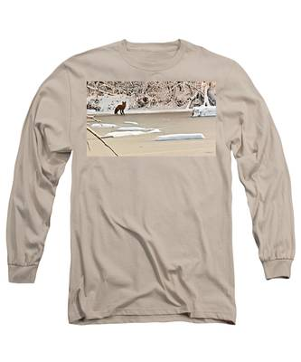 Winter Fox Long Sleeve T-Shirt