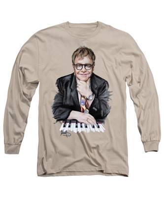Elton John Music Rock Long Sleeve T-Shirts