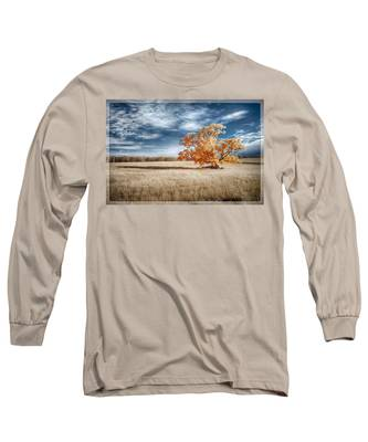 A Lone Tree Long Sleeve T-Shirt