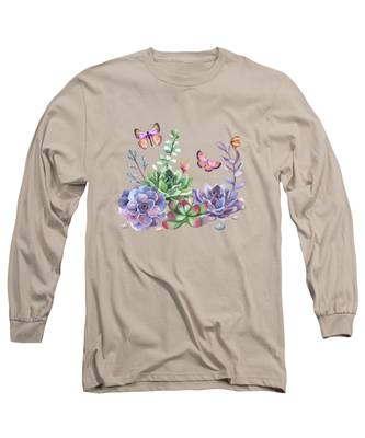 Desert Plant Long Sleeve T-Shirts