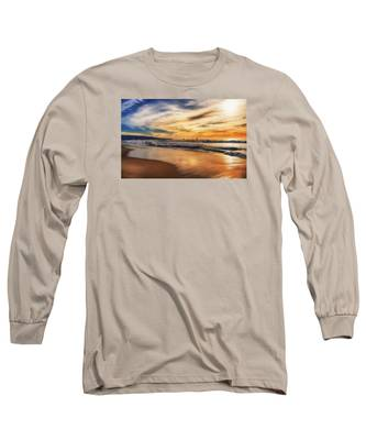Afternoon At The Beach Long Sleeve T-Shirt