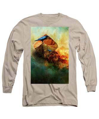 Beached Crow Long Sleeve T-Shirt