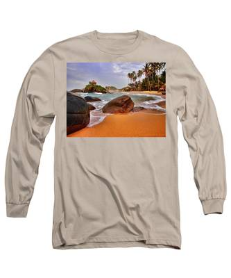 Long Sleeve T-Shirt featuring the photograph Cabo San Juan by Skip Hunt