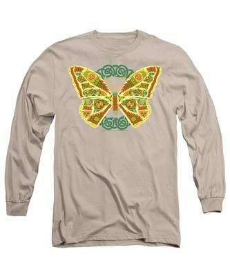 Celtic Butterfly Long Sleeve T-Shirt