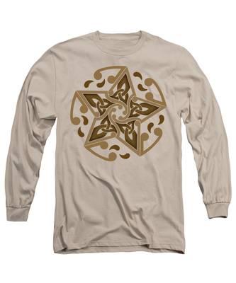 Celtic Star Long Sleeve T-Shirt