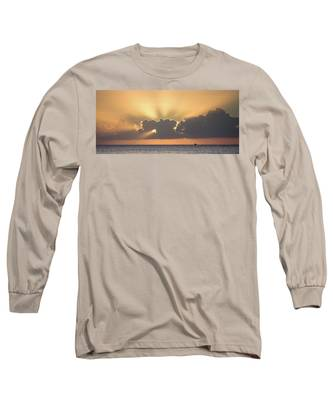 Evening Fishing Long Sleeve T-Shirt