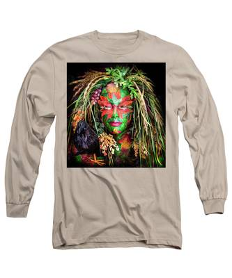 Maiden Of Earth Long Sleeve T-Shirt