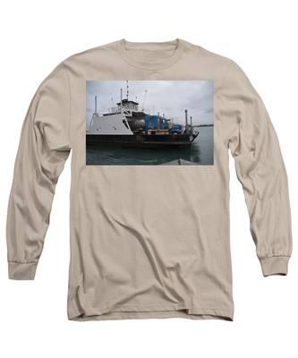 Marine City Mich Car Truck Ferry Long Sleeve T-Shirt