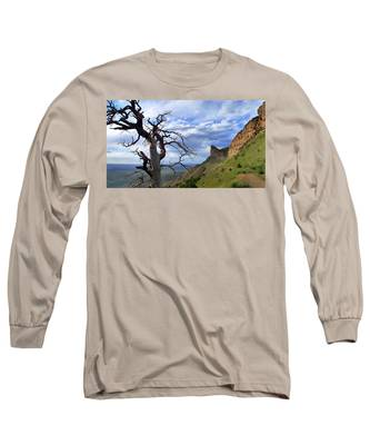 Long Sleeve T-Shirt featuring the photograph Mesa Verde Mood by Skip Hunt