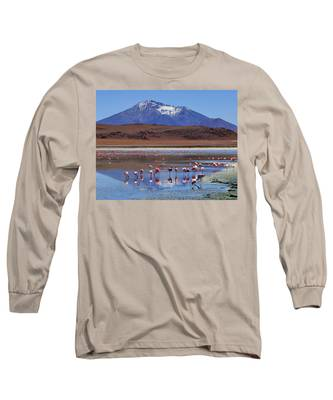 Long Sleeve T-Shirt featuring the photograph Mirage by Skip Hunt