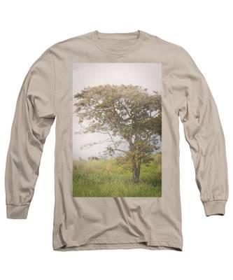 Misty Landscape Long Sleeve T-Shirt