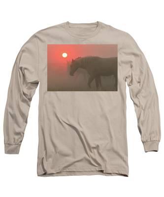 Moving Through A Dream Long Sleeve T-Shirt