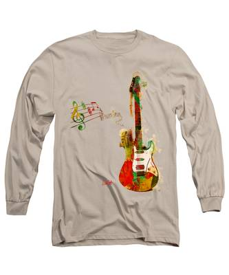 My Guitar Can Sing Long Sleeve T-Shirt