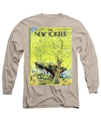 New Yorker April 26 1952 Long Sleeve T-Shirt