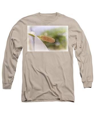 Peace Lily Long Sleeve T-Shirt