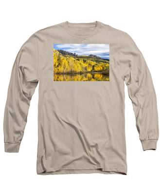 Reflection With Ophir Needles II Long Sleeve T-Shirt