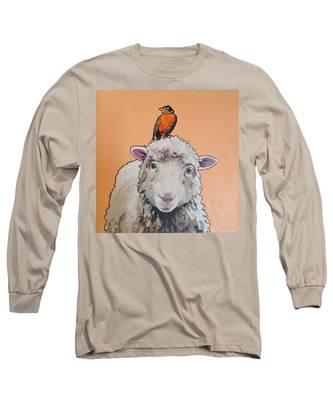Shelley The Sheep Long Sleeve T-Shirt