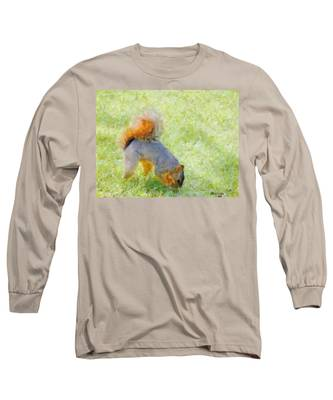 Squirrelly Long Sleeve T-Shirt