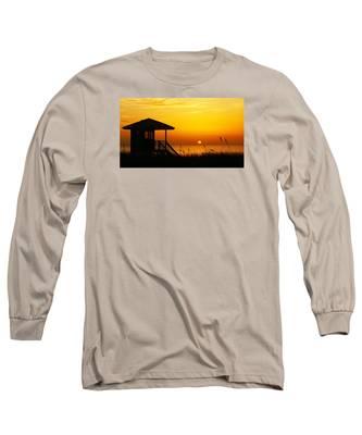 Sunrise Lifeguard Station Long Sleeve T-Shirt