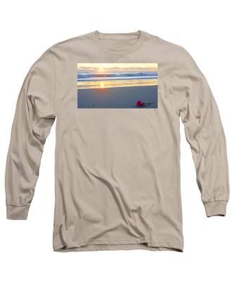 Sunrise Rose Long Sleeve T-Shirt