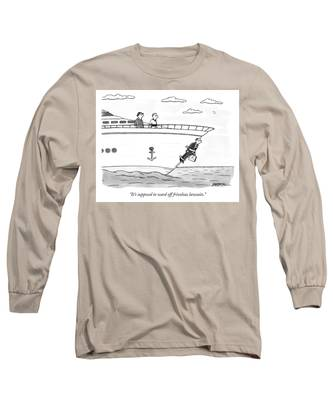 Supposed To Ward Off Frivolous Lawsuits Long Sleeve T-Shirt