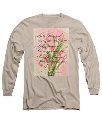The Searcher II By Thomas Blake Long Sleeve T-Shirt