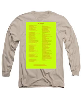 The Verdict Long Sleeve T-Shirt