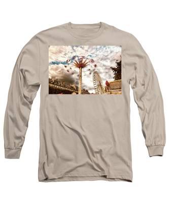 Tuilerie Garden Paris Swings Long Sleeve T-Shirt