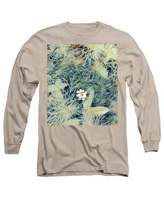 White Cosmo Long Sleeve T-Shirt