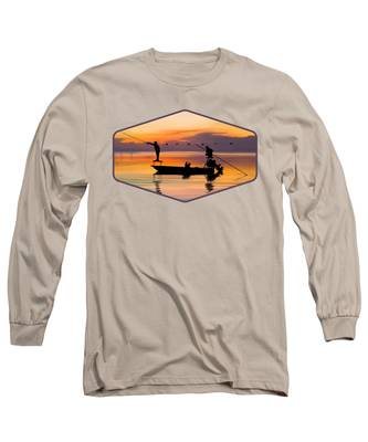 Boating Long Sleeve T-Shirts