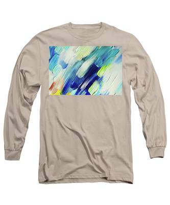 Living Healing Color Therapy - Decolores Long Sleeve T-Shirts