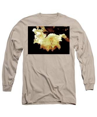 Creamy Rhododendron Long Sleeve T-Shirt