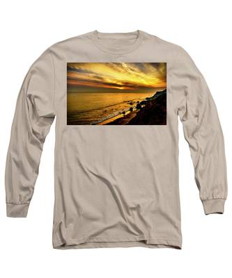 El Matador Beach Sunset Long Sleeve T-Shirt