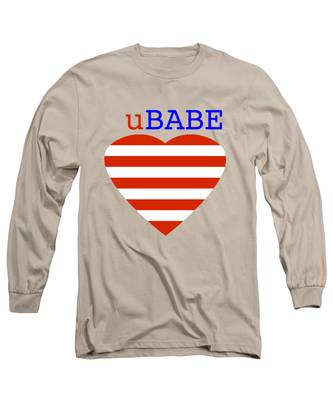 Hearts And Stripes Long Sleeve T-Shirt