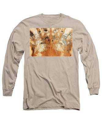 Decalcomania Long Sleeve T-Shirts