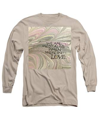 In Love Long Sleeve T-Shirt