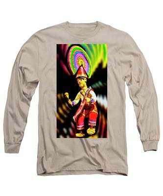 Mayan Dancer Long Sleeve T-Shirt