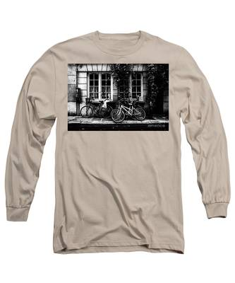 Paris At Night - Rue Poulletier Long Sleeve T-Shirt