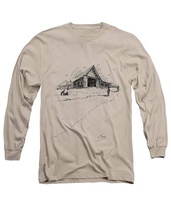 Yard-work On The Farm Long Sleeve T-Shirt