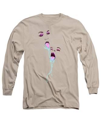 Pastels Long Sleeve T-Shirts
