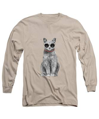 Cool Kitten Long Sleeve T-Shirts