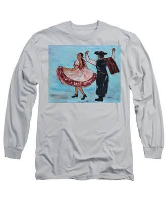 Argentinian Folk Dance Long Sleeve T-Shirt
