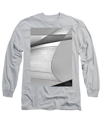 Sailcloth Abstract Number 4 Long Sleeve T-Shirt