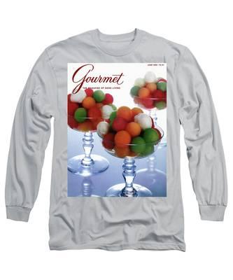 A Gourmet Cover Of Melon Balls Long Sleeve T-Shirt