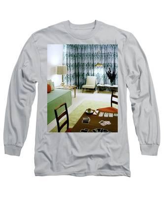 A Retro Bedroom Long Sleeve T-Shirt